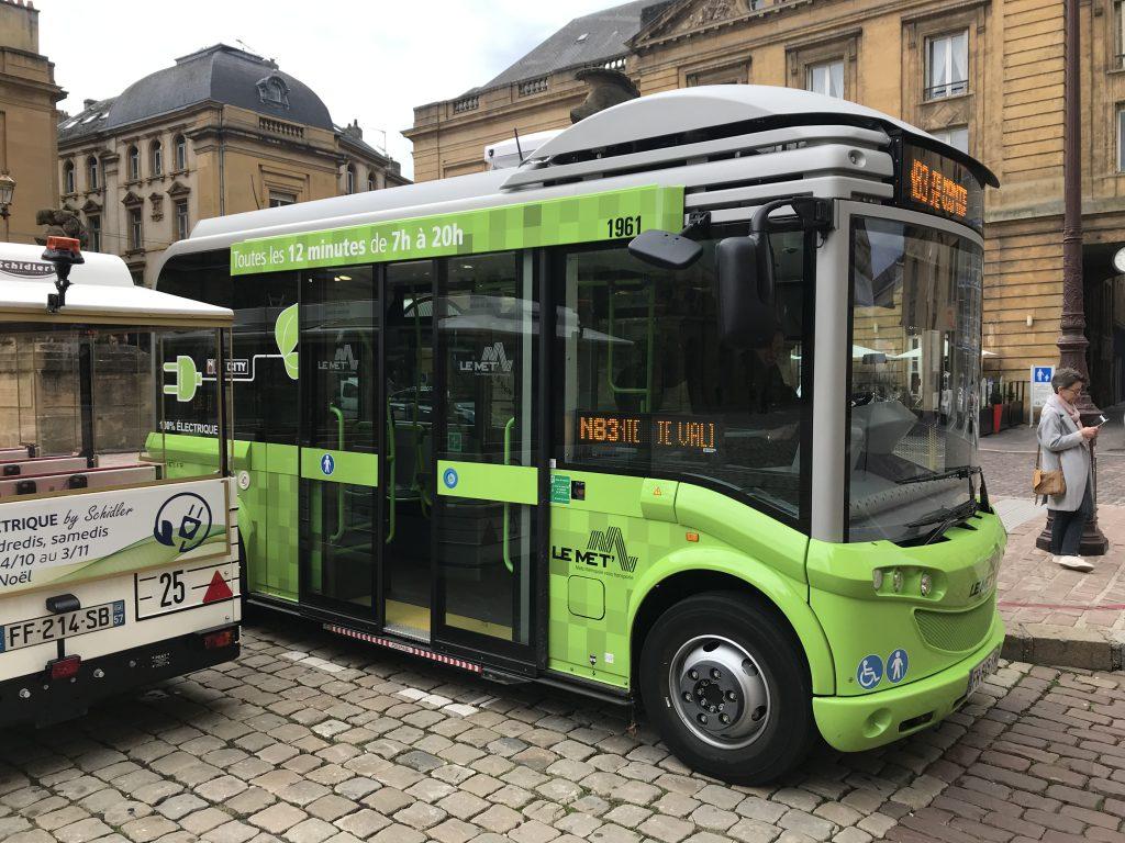Elektro Shuttle Metz 01